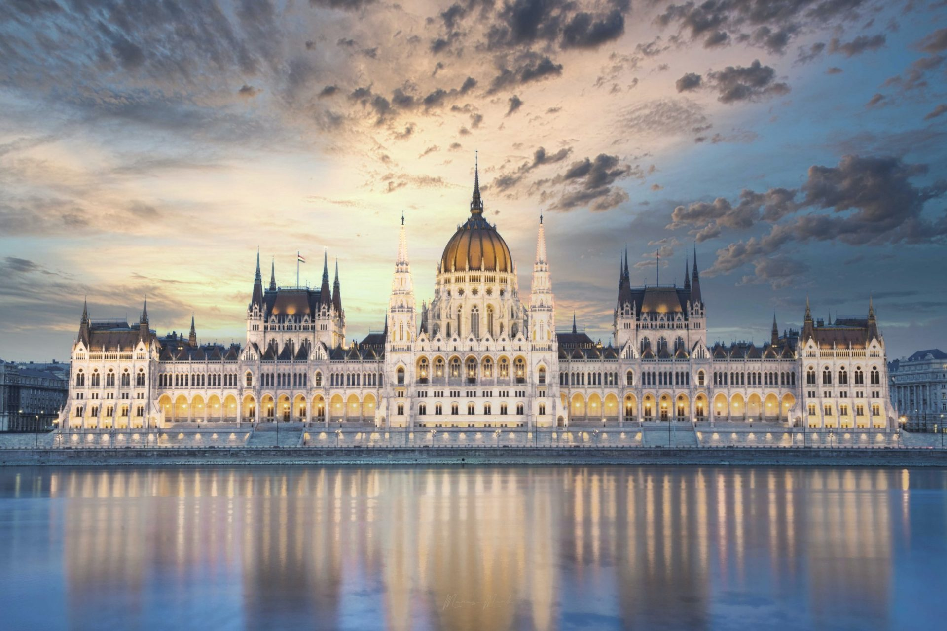 Best Countries for Digital Nomads in Europe - House of Parliament in Budapest, Hungary