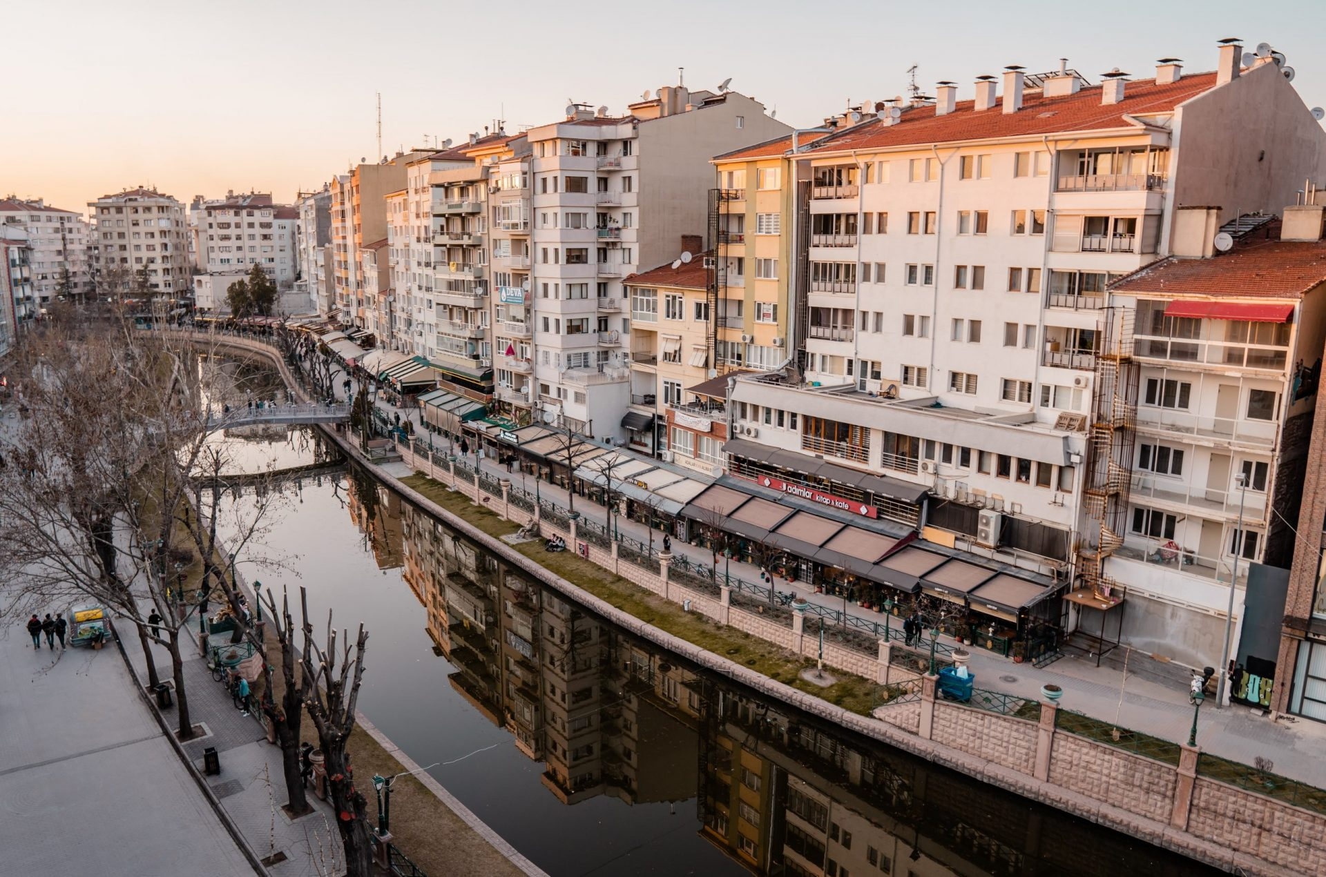 The Ultimate Guide to Turkey for Digital Nomads - Eskisehir riverfront