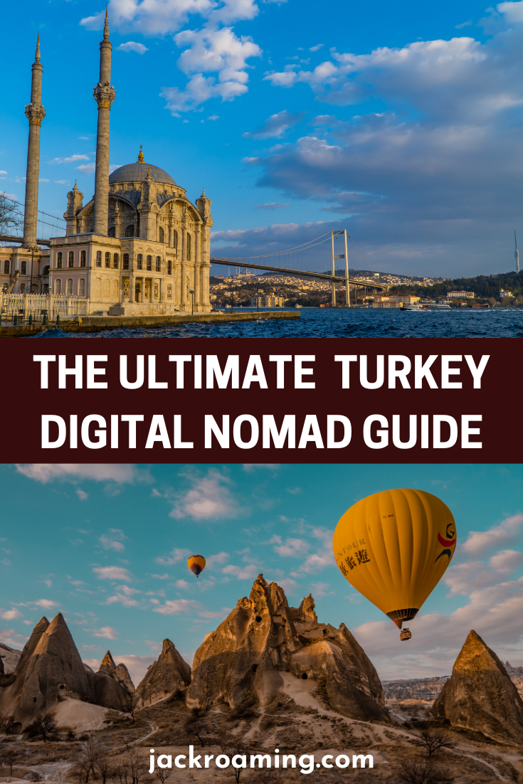 The Ultimate Guide to Turkey for Digital Nomads - pinterest pin 2