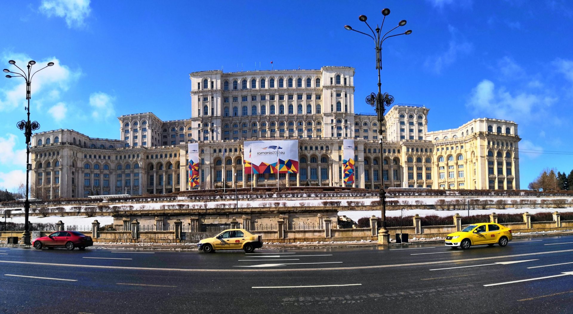 Travel photography mistakes - not adding a sense of scale - Palace of Parliament in Bucharest, Romania
