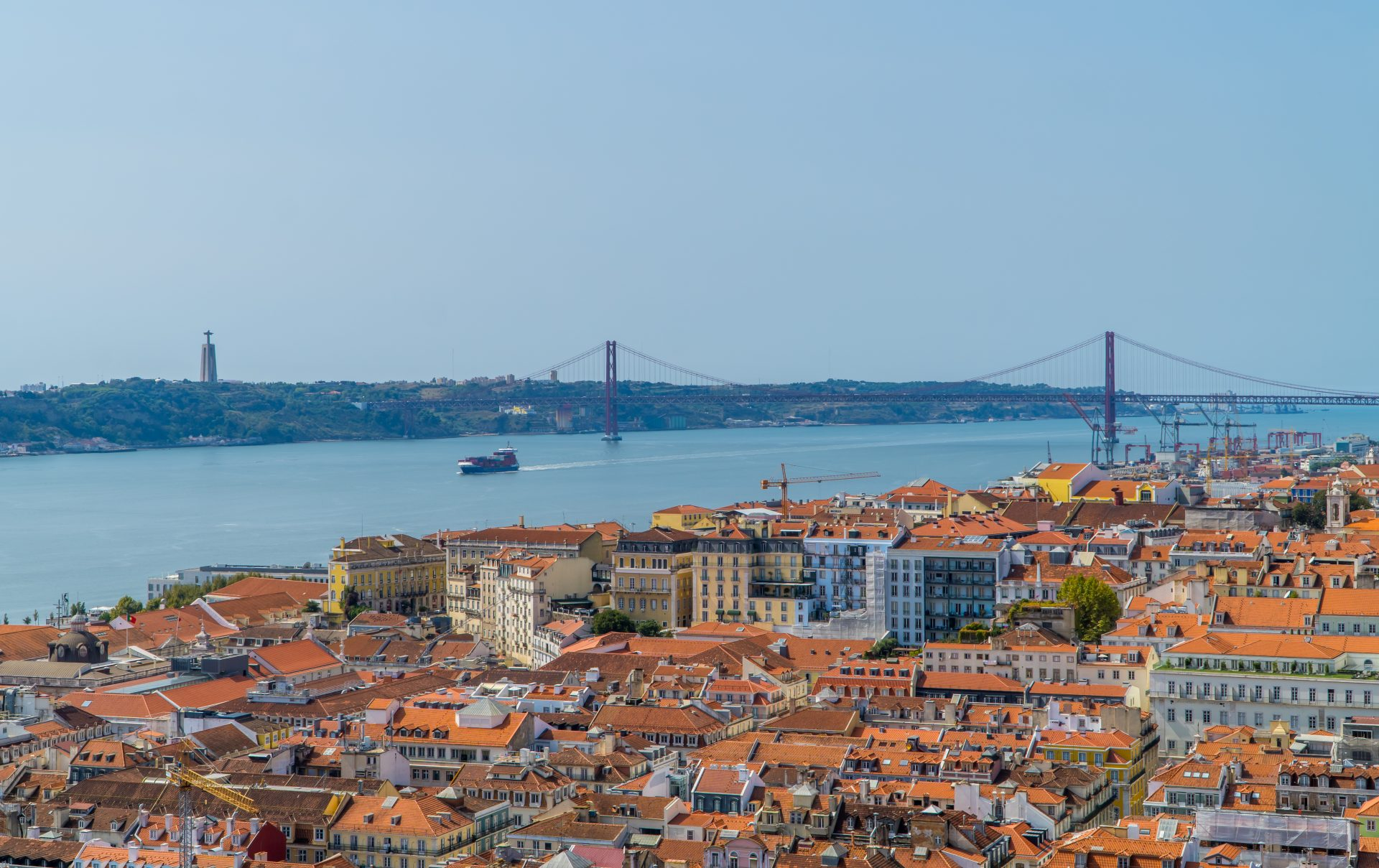 Digital Nomad Portugal Guide - Tagus River view