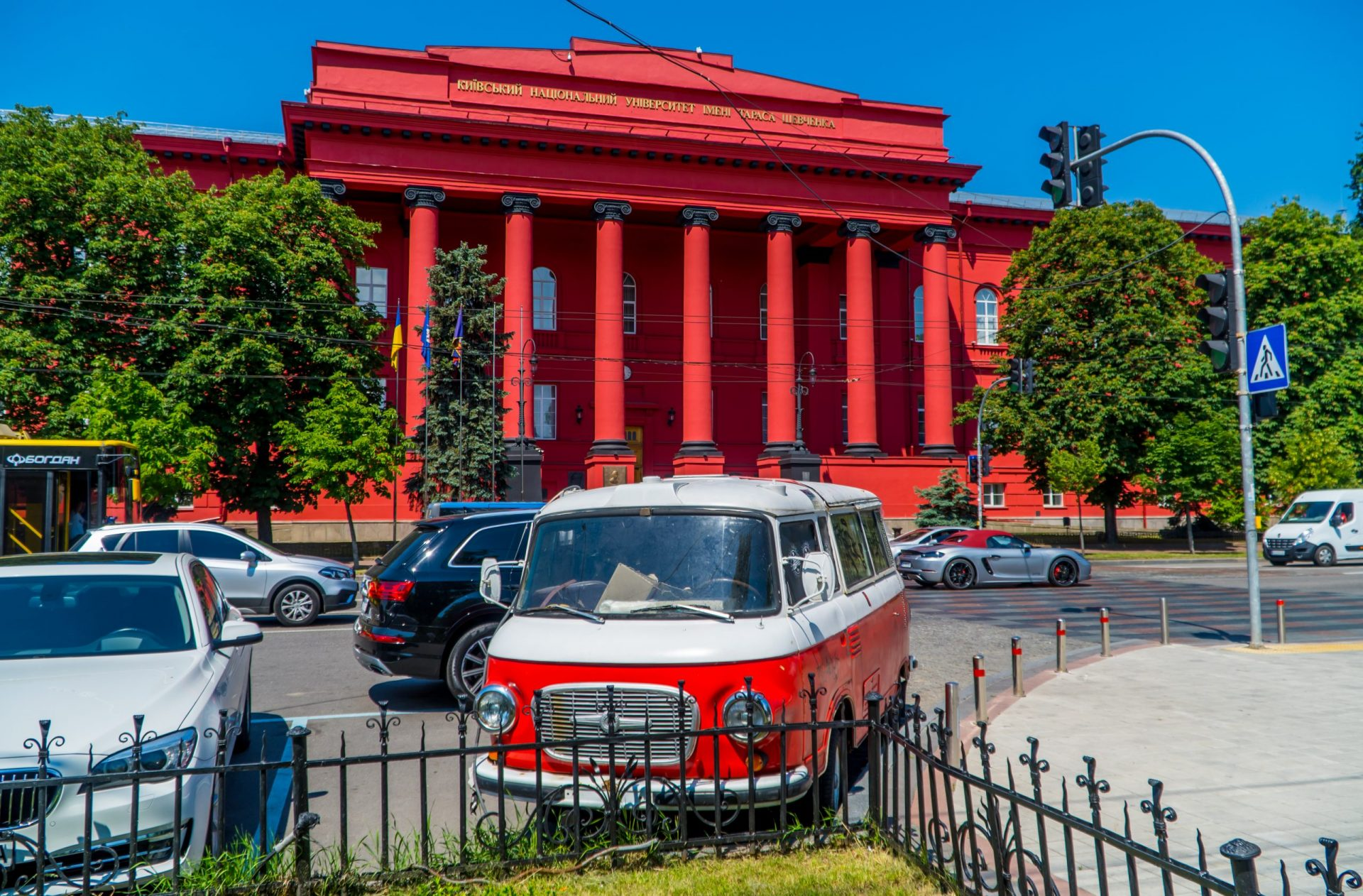 Places to visit in Kiev - Red University