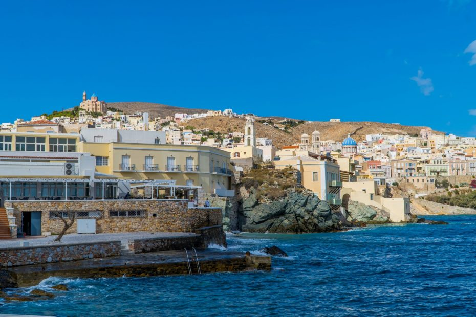 Things to do in Syros - Cyclades - Greece - the city of Ermoupolis