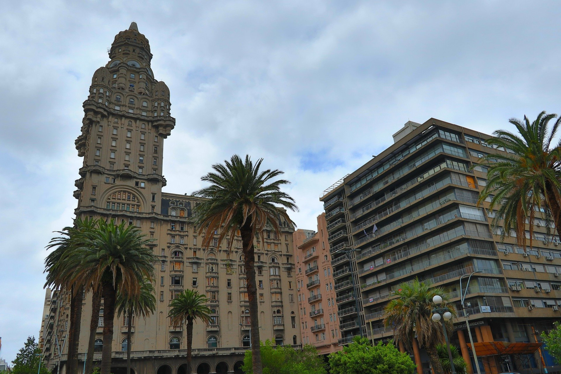 The Palacio Salvo in the Old Town of Montevideo