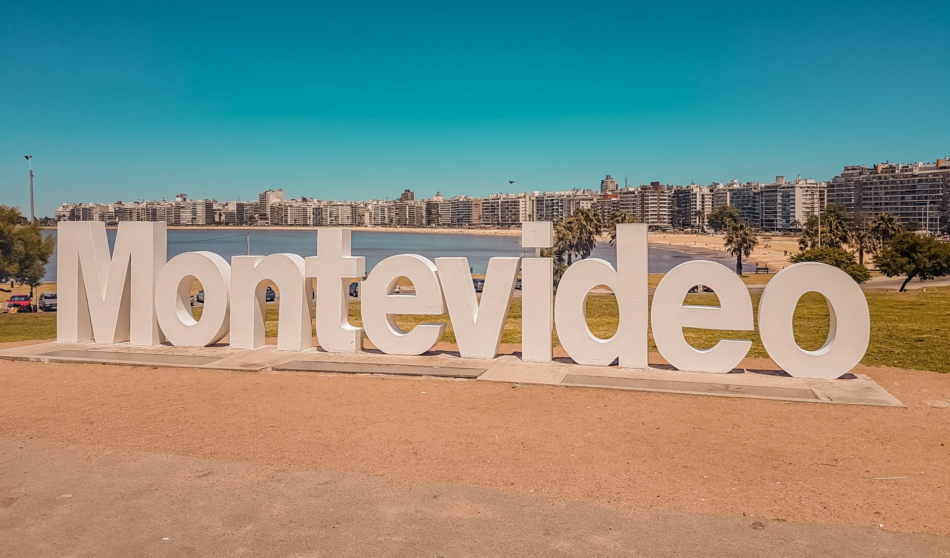 Best Places to Visit in Uruguay - Montevideo sign